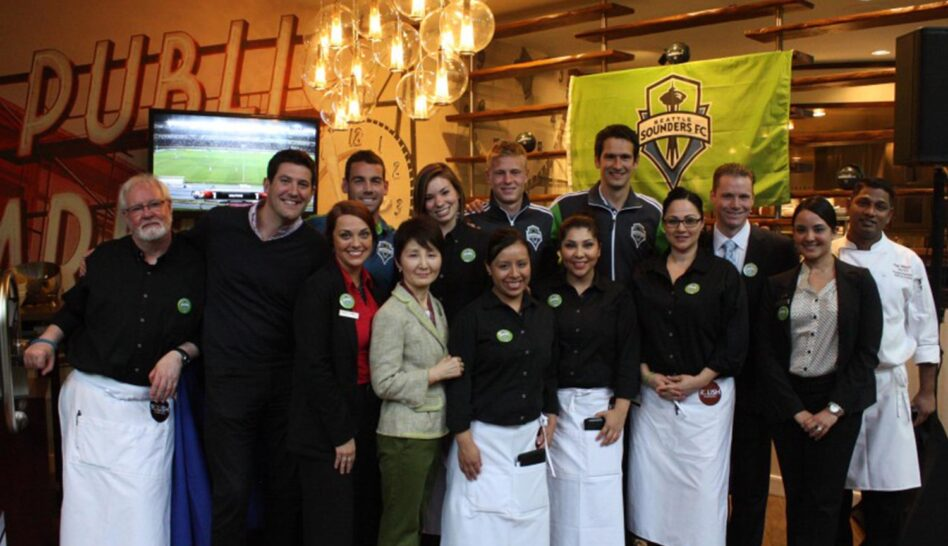 staff photo of the people working at Relish Burger Bistro